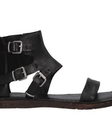Čierne sandále Rebecca White