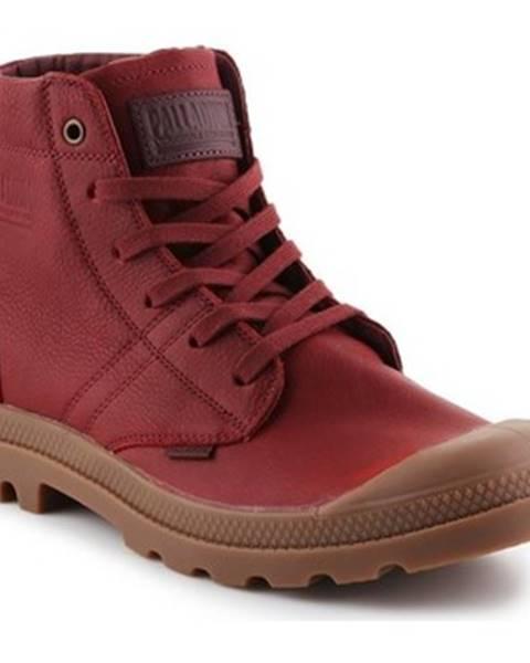 Červené topánky Palladium