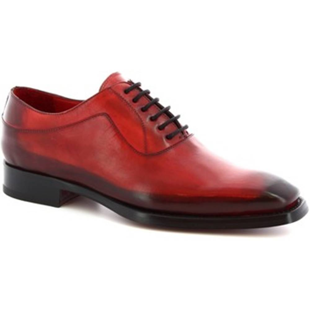 Leonardo Shoes Richelieu Leonardo Shoes  9123/19 TOM VITELLO AV ROSSO