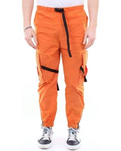 Oranžové nohavice Off-White