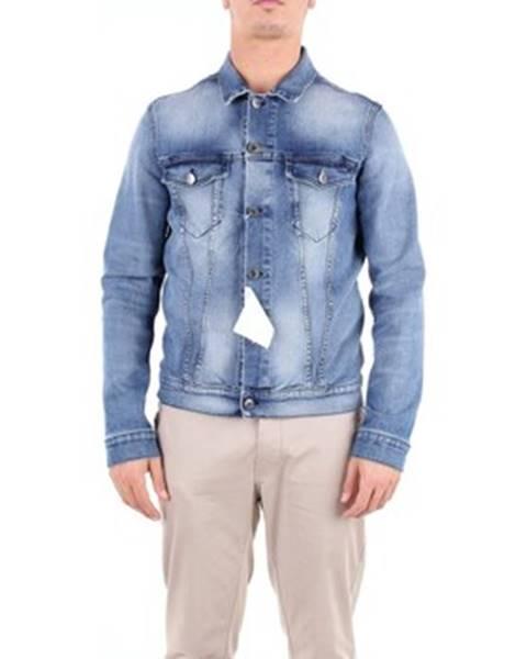 Viacfarebná džínsová bunda Camouflage