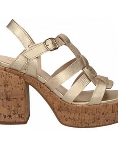 Zlaté sandále Jeannot