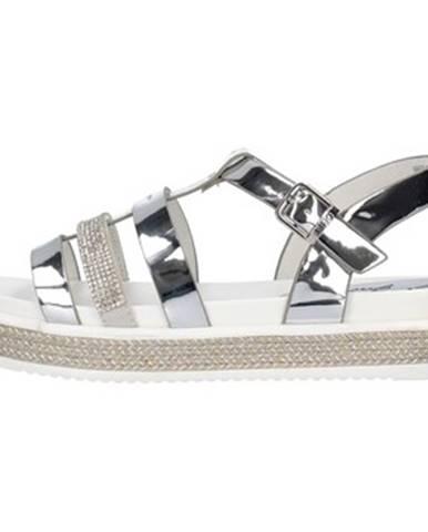Strieborné sandále Liu Jo