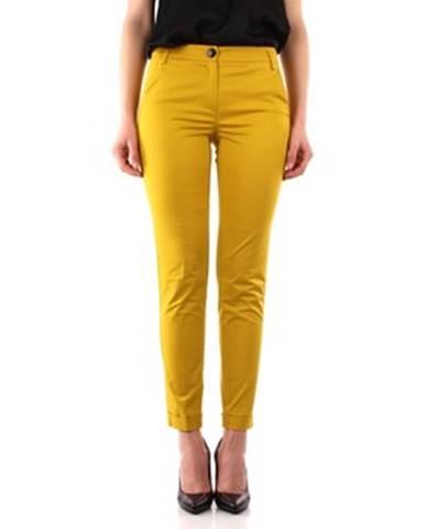 Žlté chino nohavice Emme Marella