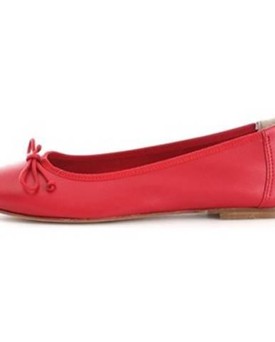 Červené balerínky Hl - Helen