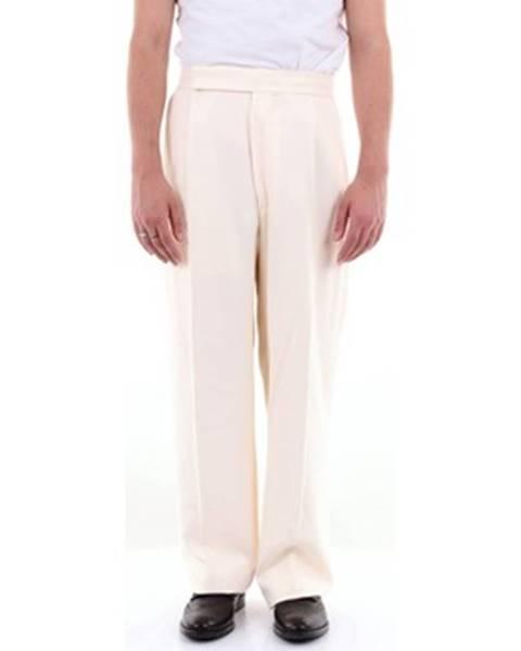 Béžové nohavice Haider Ackermann