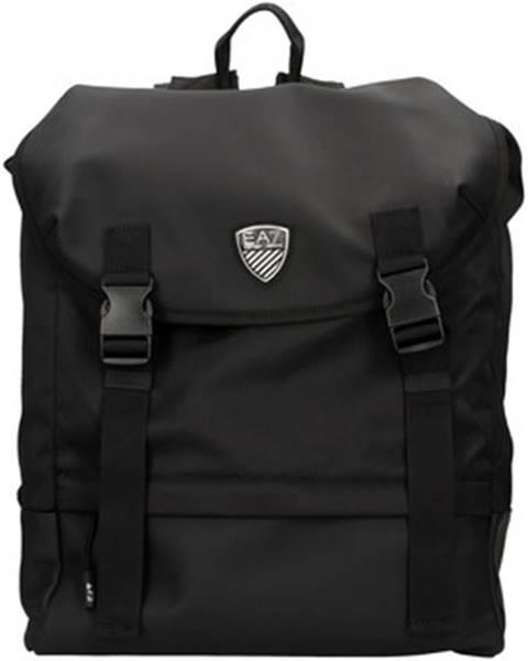 Čierny batoh Emporio Armani EA7