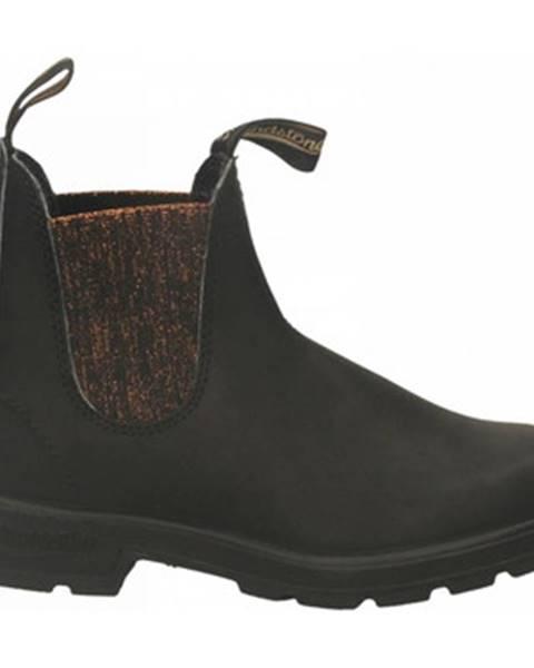 Čierne topánky Blundstone