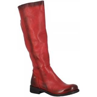 Čižmy do mesta Leonardo Shoes  RE01 VACCHETTA ROSSA