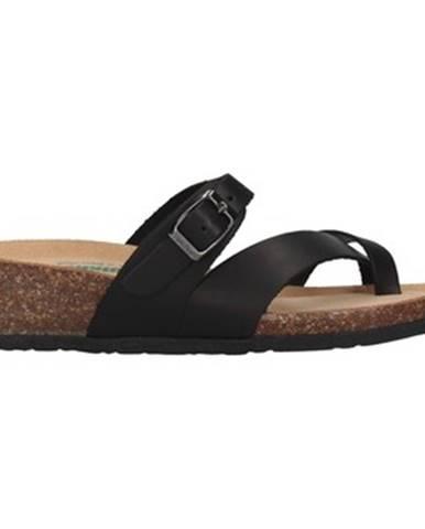 Čierne sandále Bionatura