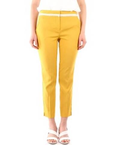 Žlté chino nohavice Marella
