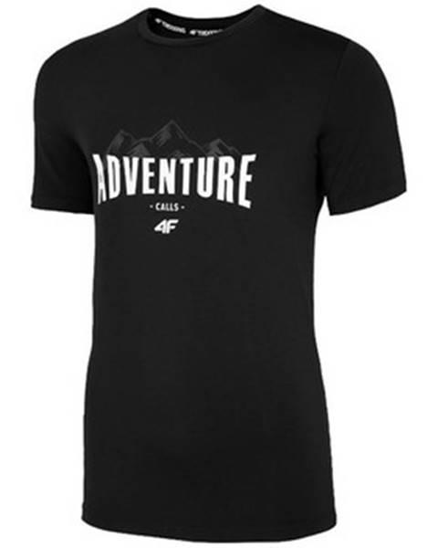 Čierne tričko 4F