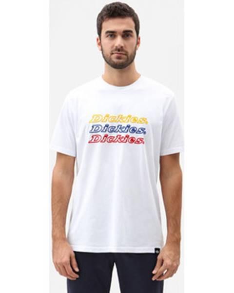 Biele tričko Dickies