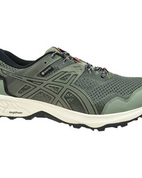 Zelené topánky Asics