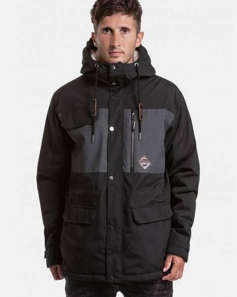 Čierna zimná bunda Nugget