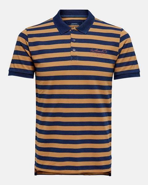 Hnedá košeľa ONLY & SONS
