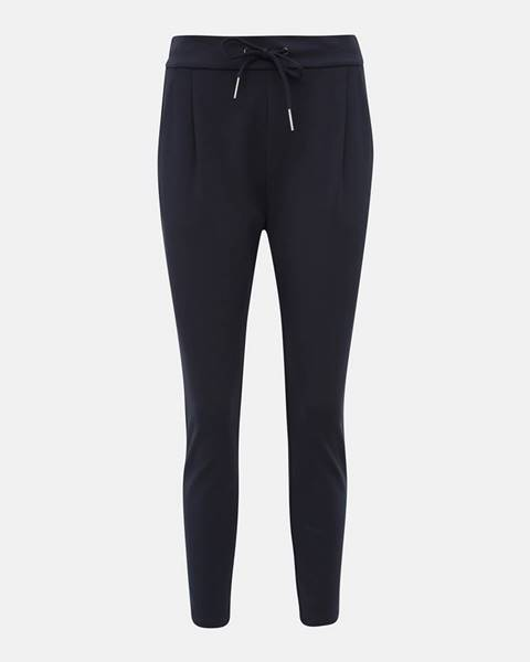 Tmavomodré nohavice Vero Moda