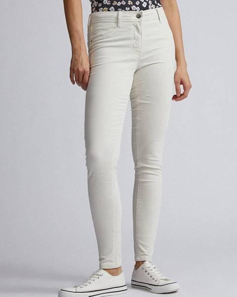 Krémové nohavice Dorothy Perkins