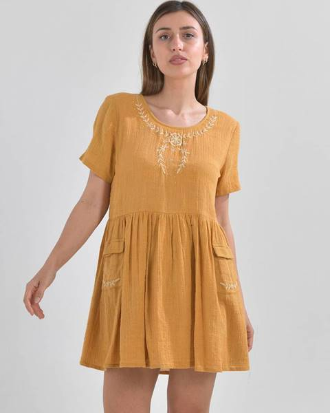 Žlté šaty ble