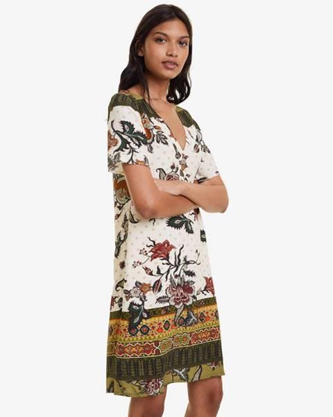 Viacfarebná sukňa Desigual