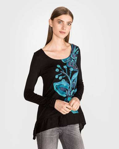 Čierne tričko Desigual
