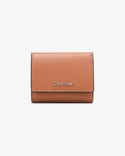 Oranžová peňaženka Calvin Klein