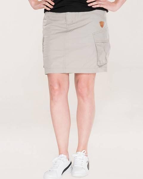 Béžová sukňa SAM 73