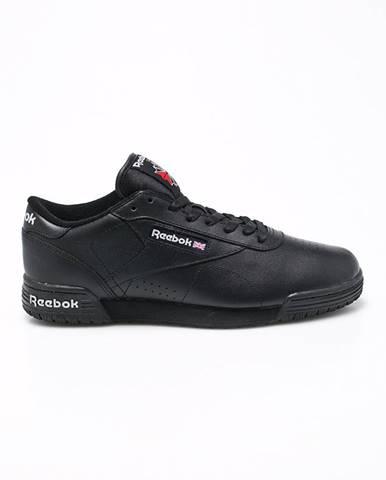 Čierne topánky Reebok Classic