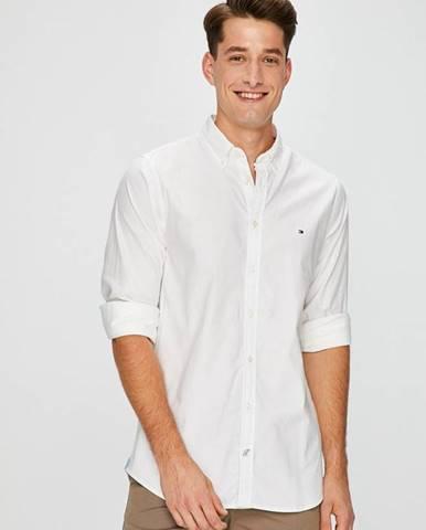 Biela košeľa Tommy Hilfiger