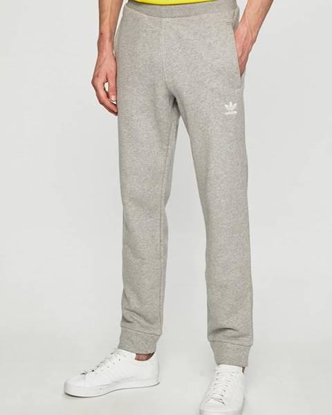 Sivé nohavice adidas Originals