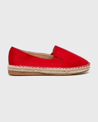 Červené espadrilky Answear