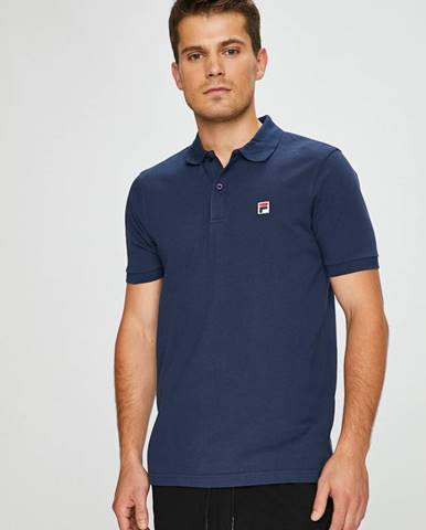 Tmavomodré tričko Fila