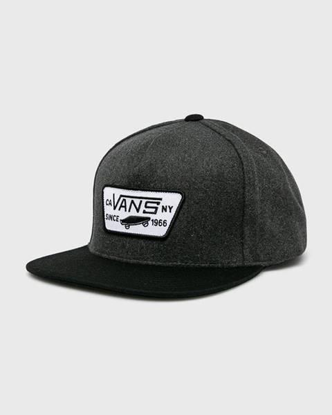 Sivá čiapka Vans