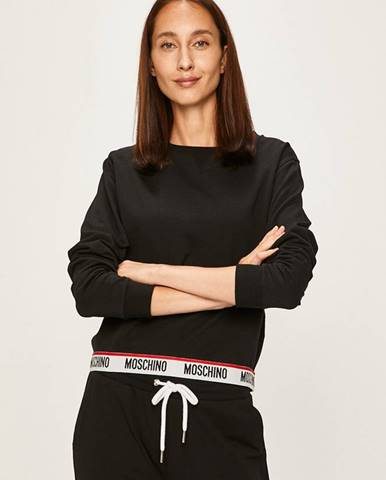 Čierne pyžamo Moschino Underwear