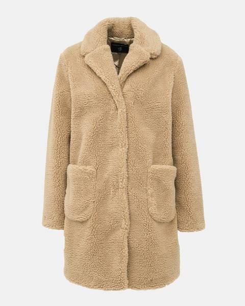 Svetlohnedý kabát Dorothy Perkins