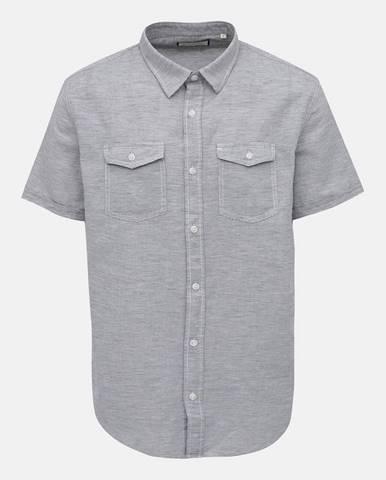 Svetlosivá košeľa Shine Original