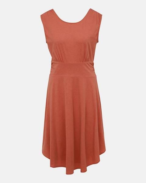 Oranžové šaty prAna