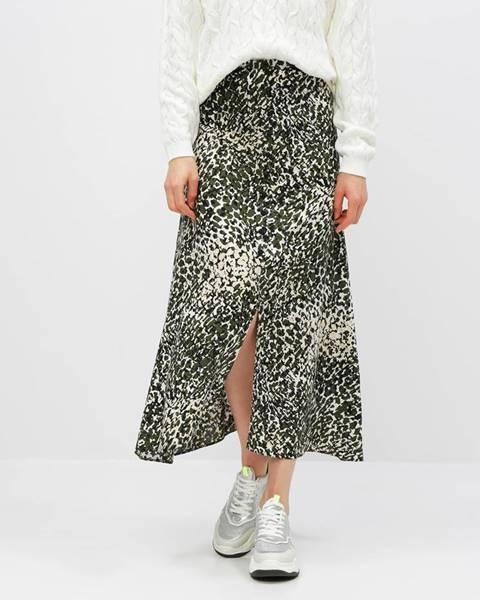 Kaki sukňa Dorothy Perkins