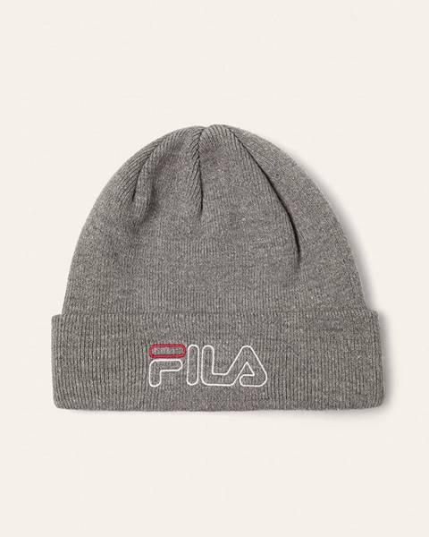 Sivá čiapka Fila