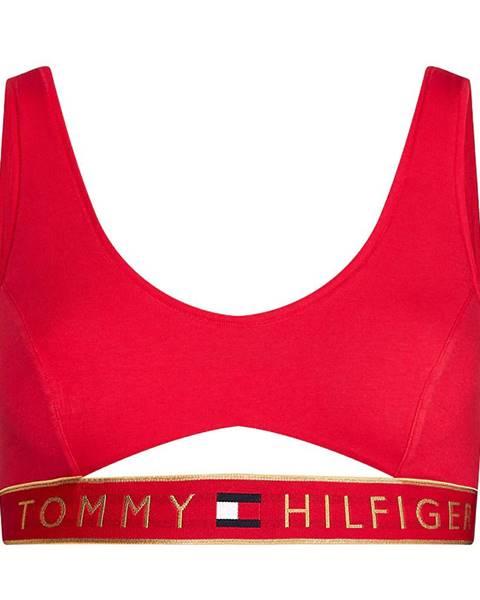 Červená podprsenka Tommy Hilfiger