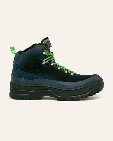Tmavomodré topánky Tommy Jeans