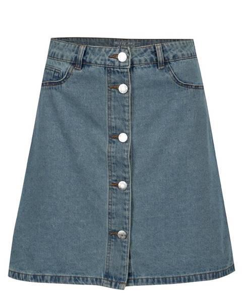 Modrá sukňa Noisy May