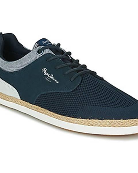 Modré sandále Pepe jeans