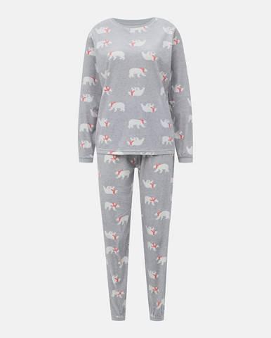 Sivé pyžamo M&Co