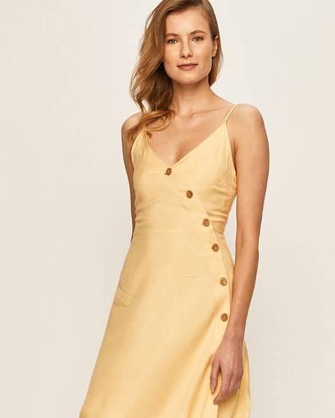Žlté šaty Roxy