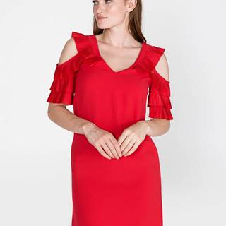 Calista Šaty Pinko Červená