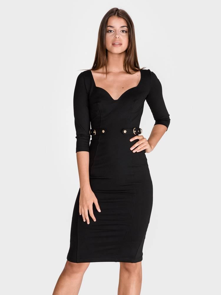 Versace Jeans Couture Šaty Versace Jeans Couture Čierna