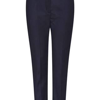 Dámske nohavice s pukmi  modrá