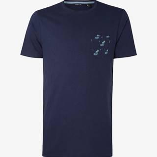 Tričko O'Neill Lm Palm Pocket T-Shirt Modrá