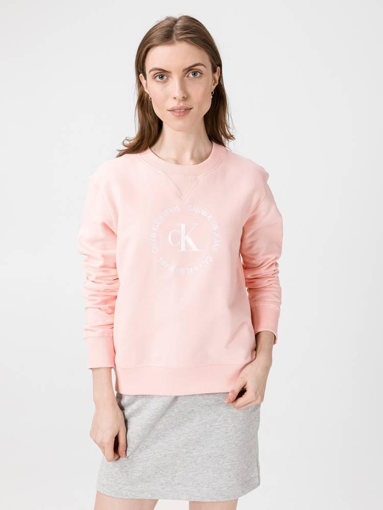 Calvin Klein Mikina Calvin Klein Růžová